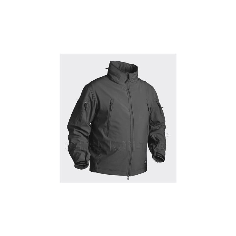 GUNFIGHTER Jacket - Shark Skin Windblocker - Black