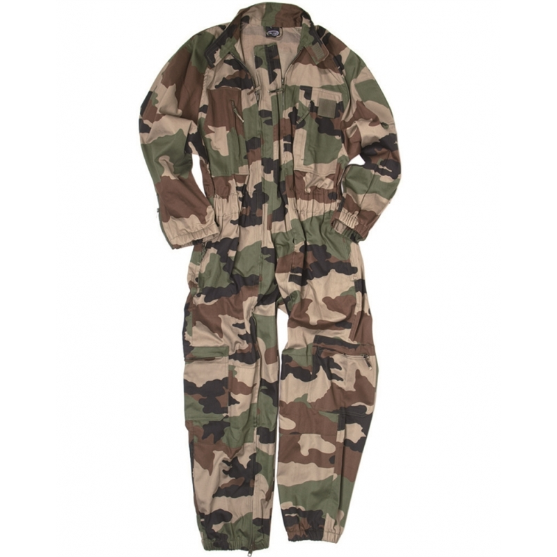 French CCE Camo Coverall - Woodland XL