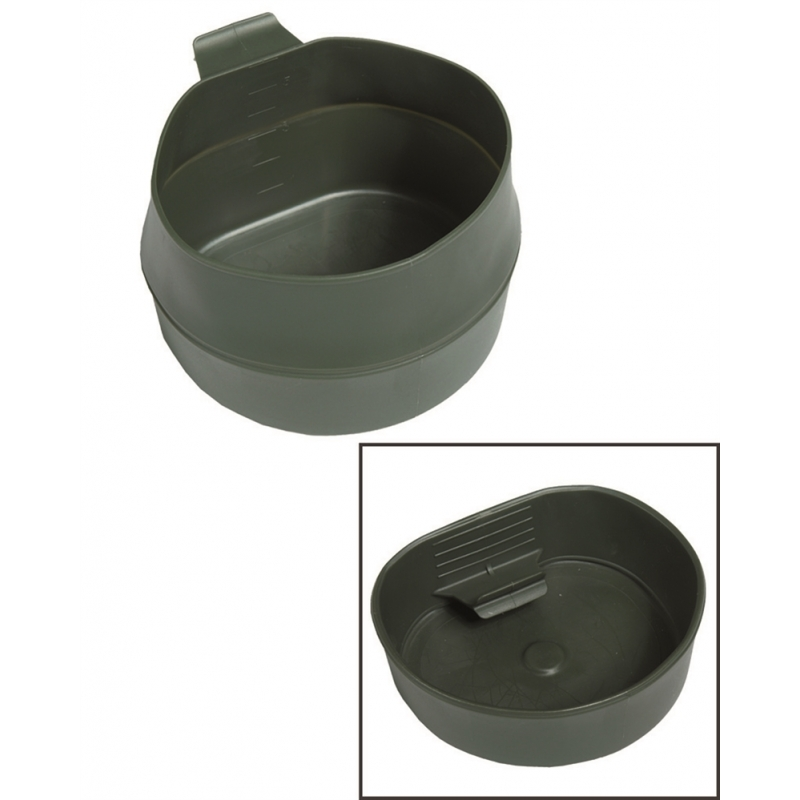 FOLD-A-CUP® - Olive 600 ml