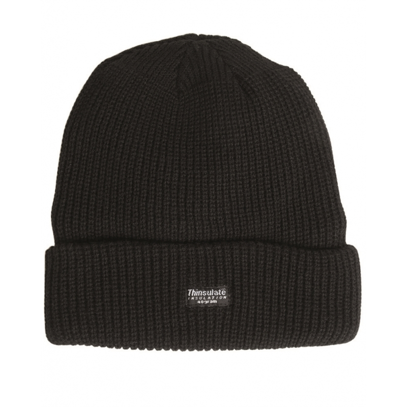 Thinsulate™ Watch Cap - black
