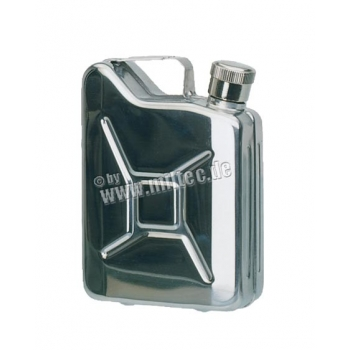 Flask Jerry Can - Stainless Steel 170 ml