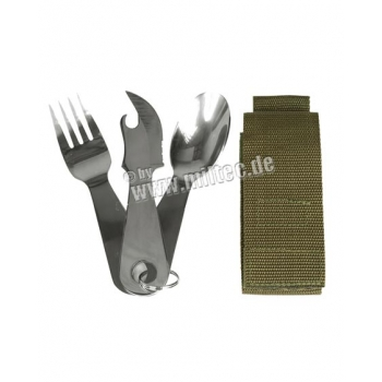 Stainless Steel Cutlery Set - with pouch
