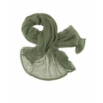Net Scarf - Olive