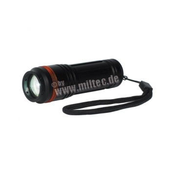 Black 3-in-1 Flashlight