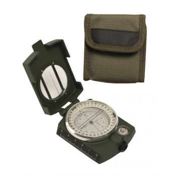 ARMY METAL COMPASS WITH CASE