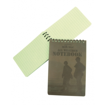 Waterproof Notebook 75 x 130 mm