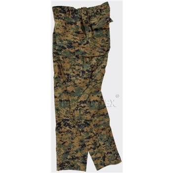 USMC Trousers - Digital Woodland