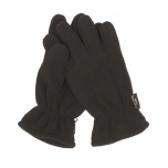 Thinsulate™ fleece gloves - black