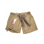 Women Army Shorts - Khaki