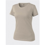WOMEN'S T-Shirt - Cotton - Khaki