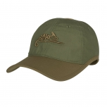 LOGO CAP - POLYCOTTON RIPSTOP - Olive/ Adaptive Green