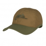 LOGO CAP - POLYCOTTON RIPSTOP - Coyote/ Olive