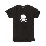 T-särk Skull - must