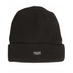 Müts Thinsulate fliisvoodriga - must