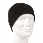 Watch Cap Beanie - black