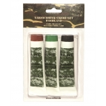 Camo Face Paint Set - Woodland