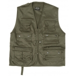Hunting/ Fishing Vest - olive green