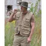 Hunting/ Fishing Vest - Khaki