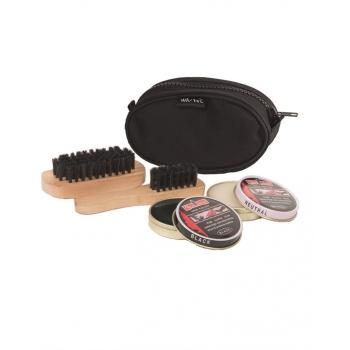 Black Shoe Cleaning Kit