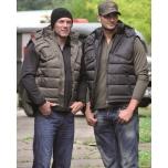 Black Vest With Hood - Miltec
