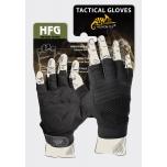HALF FINGER Gloves - Black