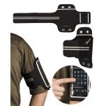 BLACK LYCRA® Käepael / mobiilihoidja