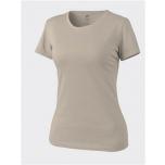 WOMEN'S T-Shirt - Cotton - Khaki