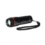 Black 3-in-1 Flashlight